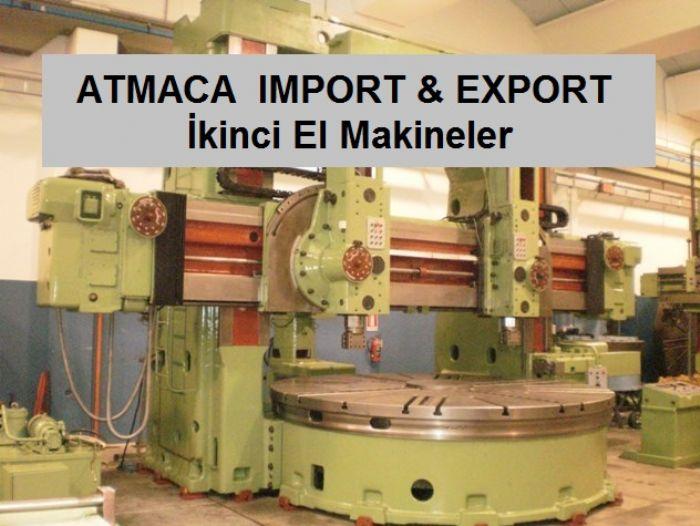 ATMACA - İkinci El Makineler
