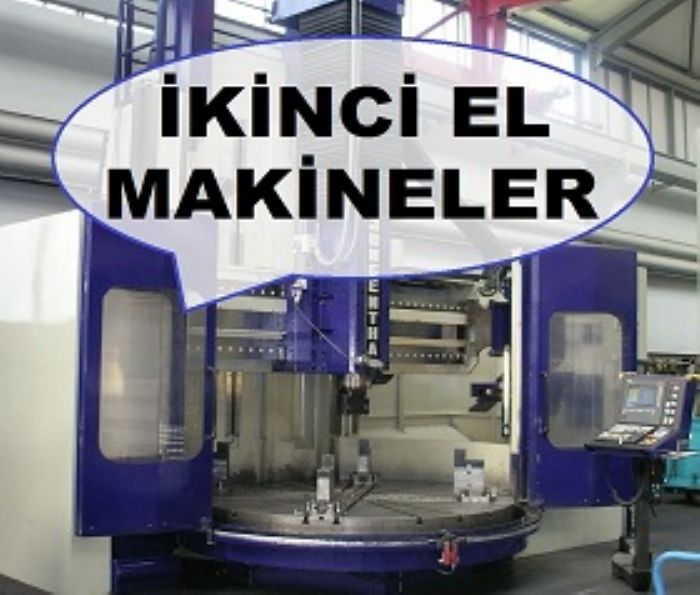 ATMACA MAKİNE - Yeni ve ikinci el sanayi makineleri