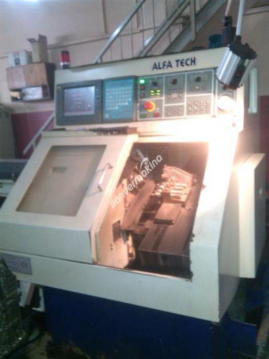 Alpha Tech Marka CNC Otomat Torna