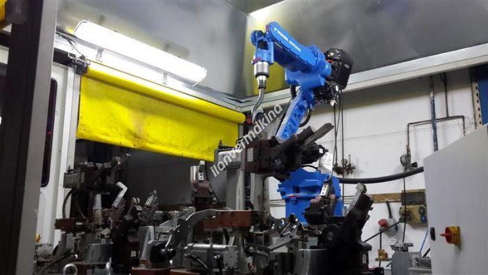 MOTOMAN DX100 MA1400 Gazaltı Kaynak Robotu