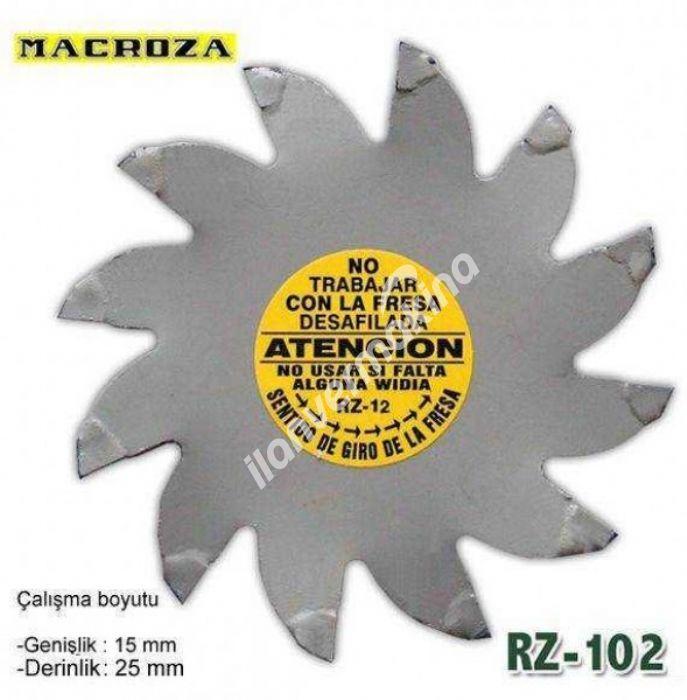 Macroza RZ-102 25 X 19 mm Freze Bıçağı