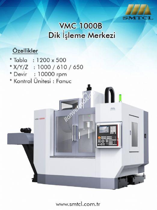 SMTCL VMC-1000 B CNC DİK İŞLEME MERKEZİ | STOK TESLİM