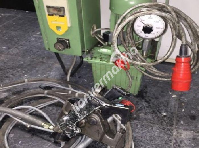 Seyyar Boru Sac Flanşlama Kordon Makinası
