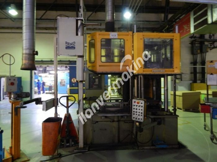 250 Ton Dikey Kauçuk Enjeksiyon Makinası
