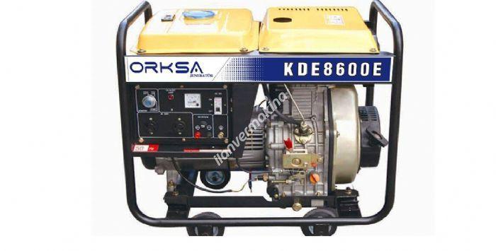 ORKSA JENERATOR  KGE 9500 E BENZINLI