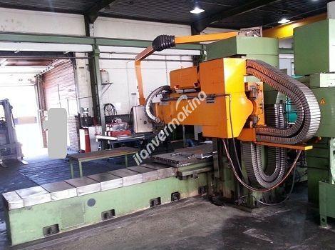 CNC Üniversal Bed Freze Makinesi
