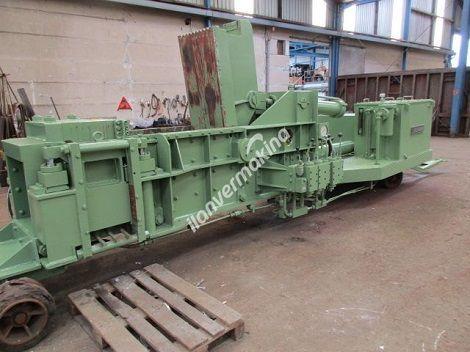 Hurda Metal Talaş Tel Balya Pres Makinası