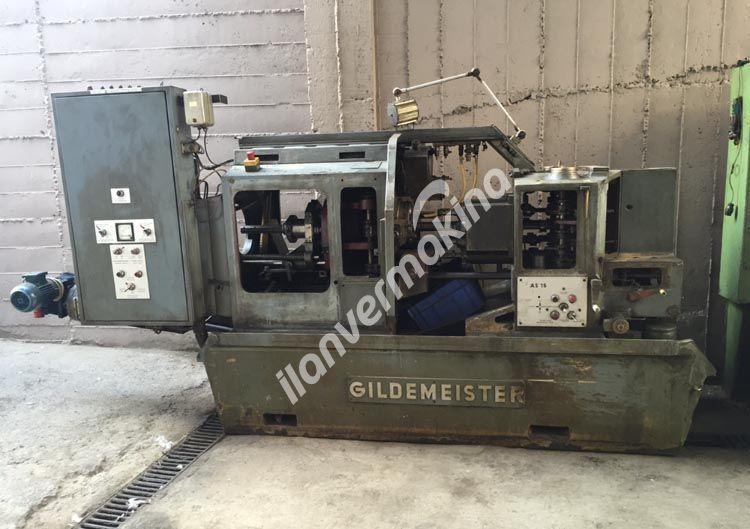 Gildemeister 6 Milli 16 inç Otomat Tezgahı