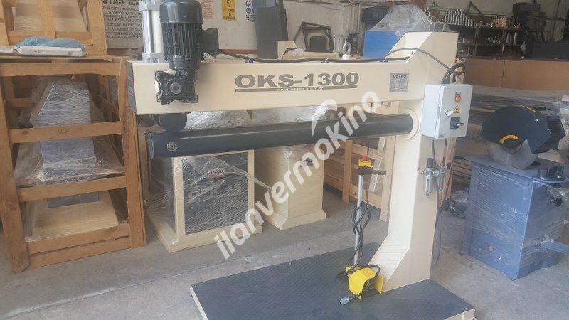 OKS 1300 Kenet Ezme Makinası Pnomatik