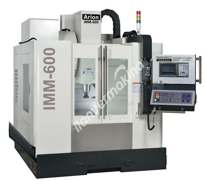 Arion IMM600 Cnc Dik İşleme Merkezi