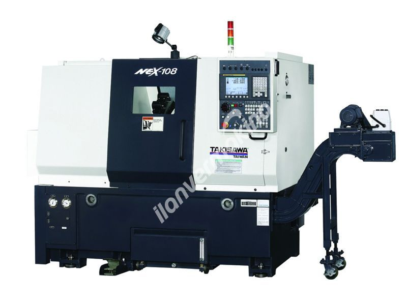 Takisawa NEX-108 H5 Cnc Torna