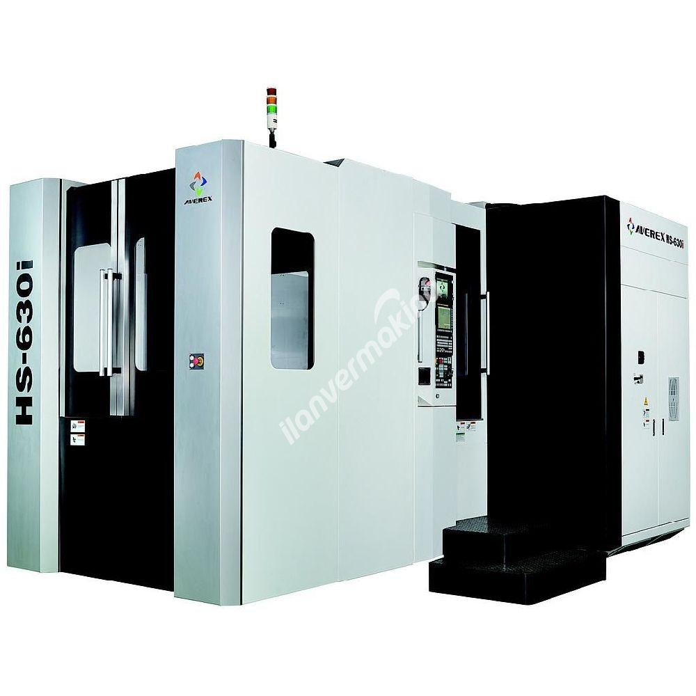 Averex HS-630i CNC Yatay İşleme Merkezi