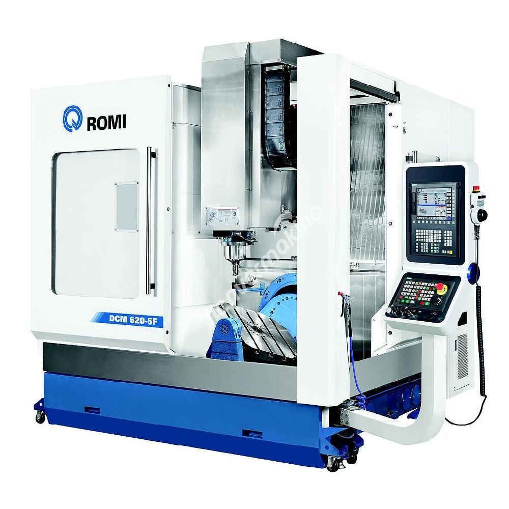 Romi DCM 620-5F CNC İşleme Merkezi 5 Eksen