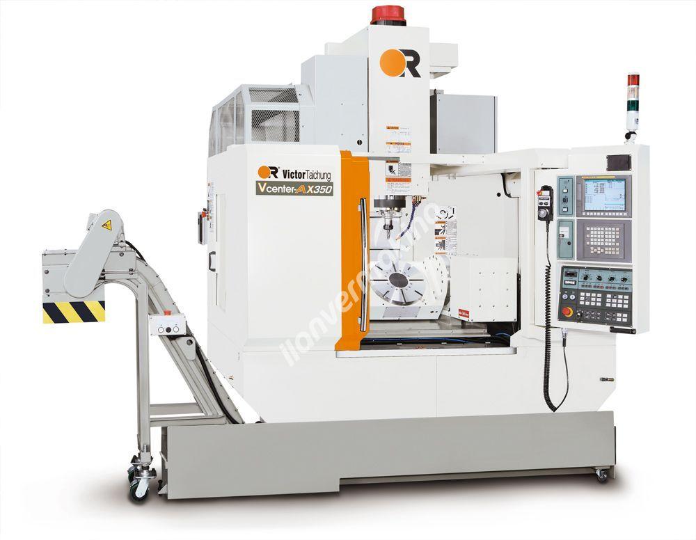 Victor VCenter-AX350 CNC İşleme Merkezi - X eksen 650 mm