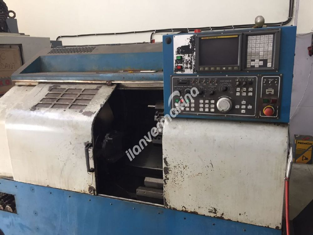 Leadwell MCV-1000 CNC Dik İşleme - Femco 8 İnç Cnc Torna - BİRLİKTE VEYA TEK SATILIK
