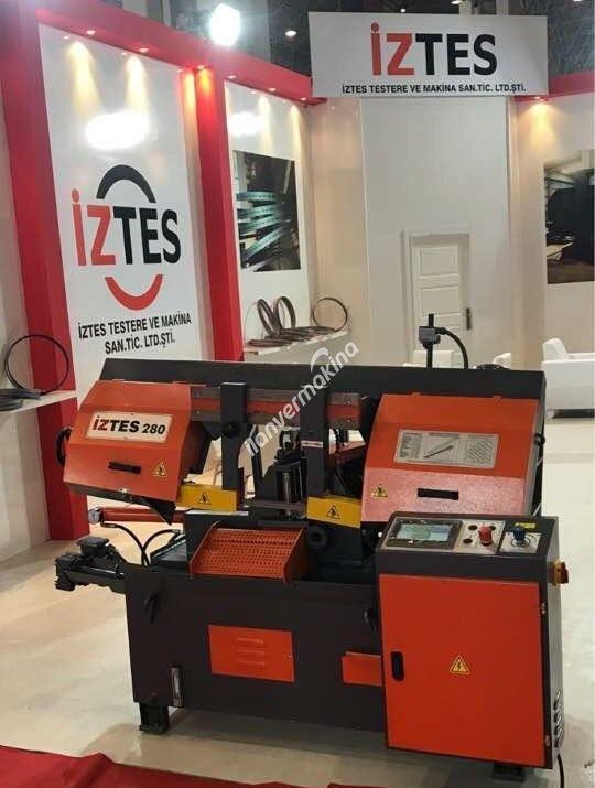 İZTES 280 PLC Tam Otomatik Şerit Testere Tezgahı