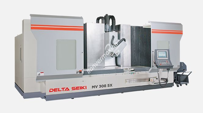 Delta Seiki MB 2532 5X 5 Eksen Cnc İşleme Merkezi