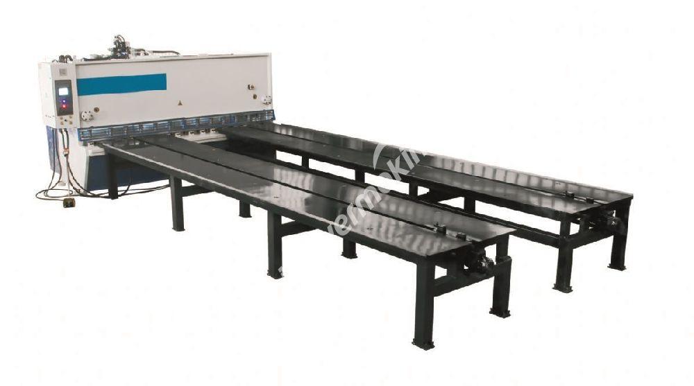 6 meter special front feeding system - Özel Giyotin Makas Ön Besleme Sistemi