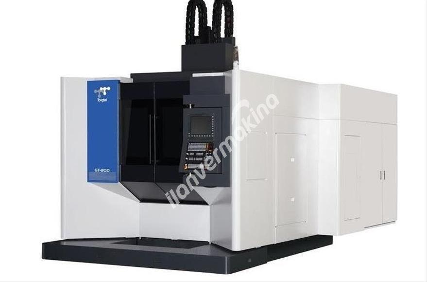 Topper GT-800 Beş Eksen Cnc İşleme Merkezi