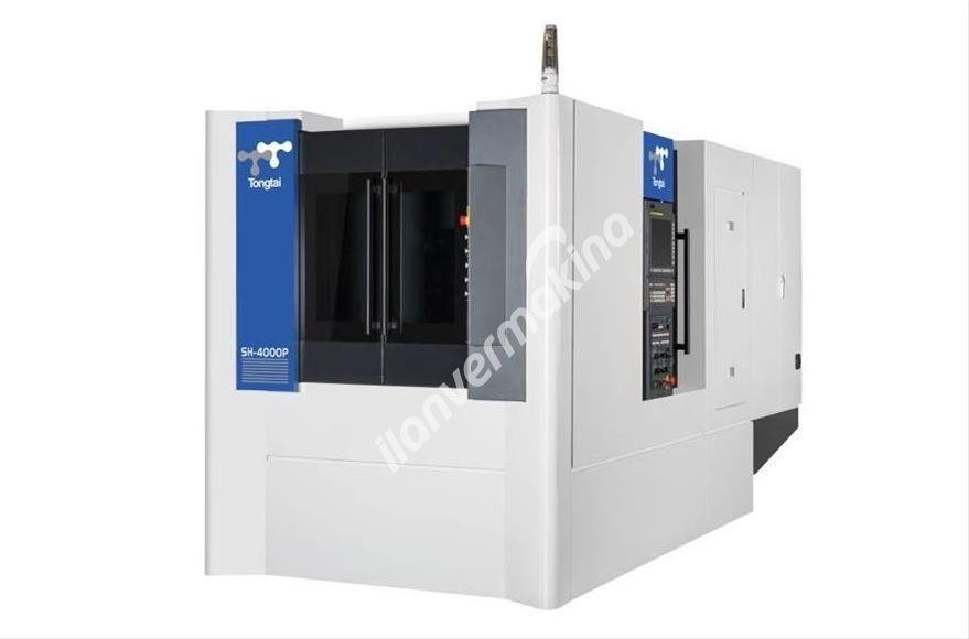 Topper SH-4500P Cnc Yatay İşleme Merkezi 400x400 Tabla