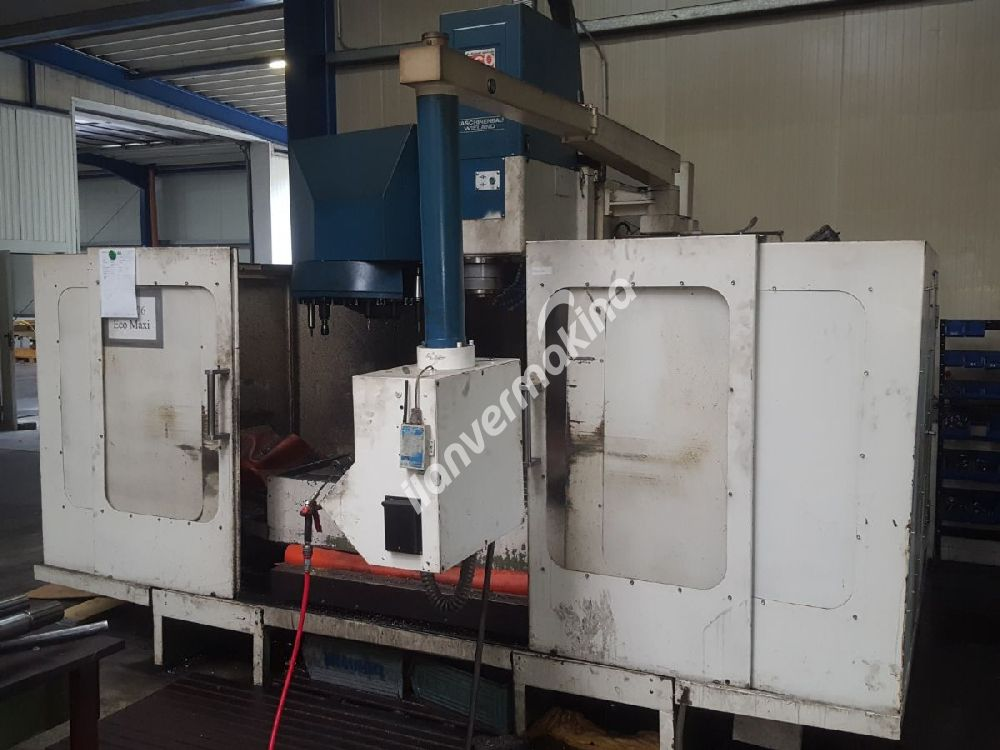 LEADWELL ECOCENTER V760 CNC DİK İŞLEME MERKEZİ
