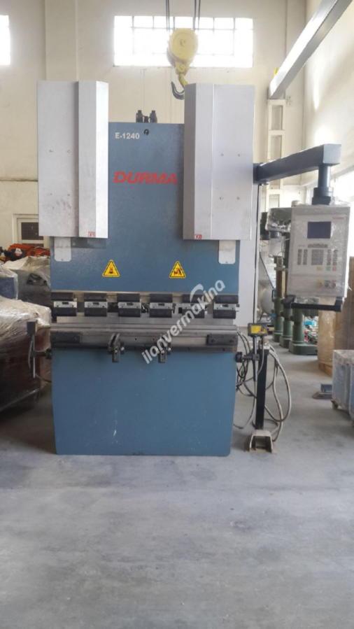 Durmazlar E1240 CNC Hidrolik Abkant Pres