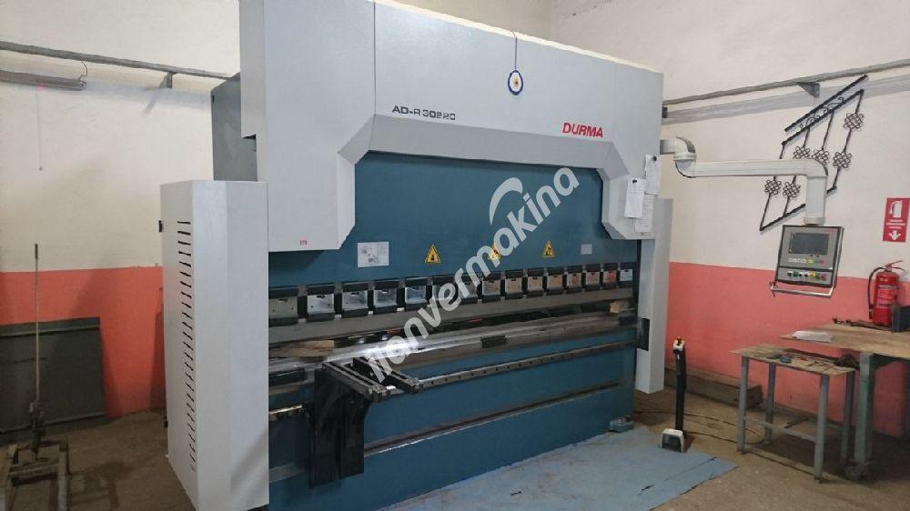 DURMA AD-R 30220 CNC Hidrolik Abkant Pres 3 Metre 10 mm 4 Eksen