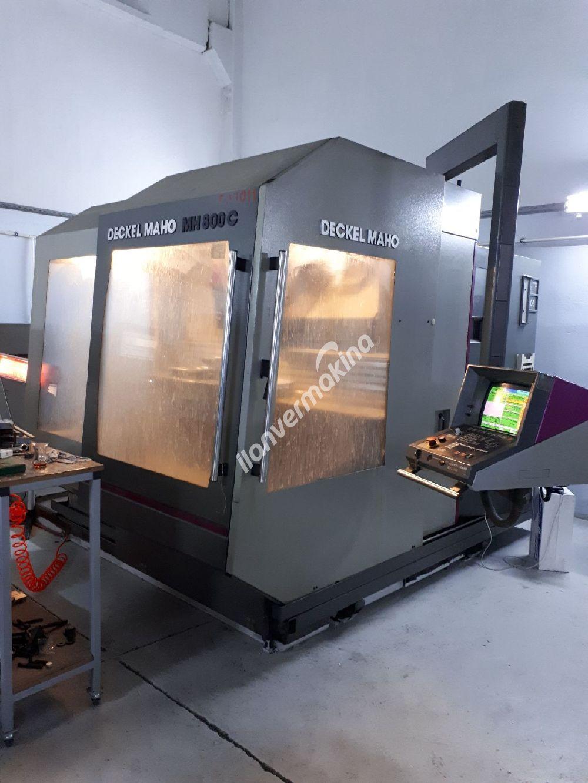 Temiz Dechel Maho MH800C CNC Dik İşleme Merkezi