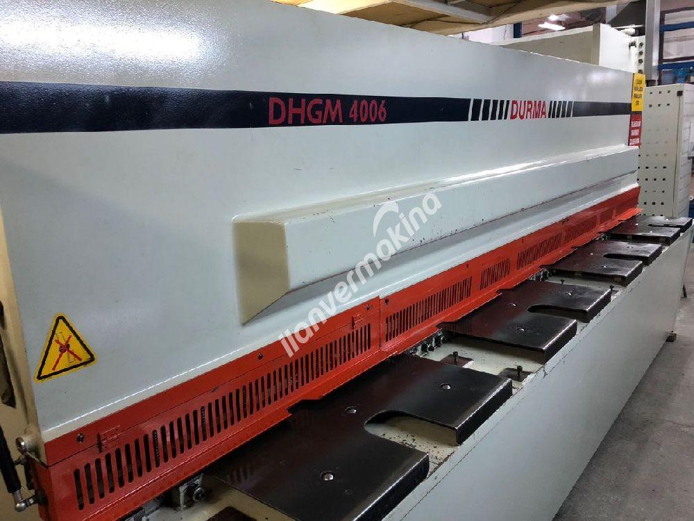 DURMAZLAR DHGM 4006 - DURMA 4 METRE 6 MM. GİYOTİN MAKAS