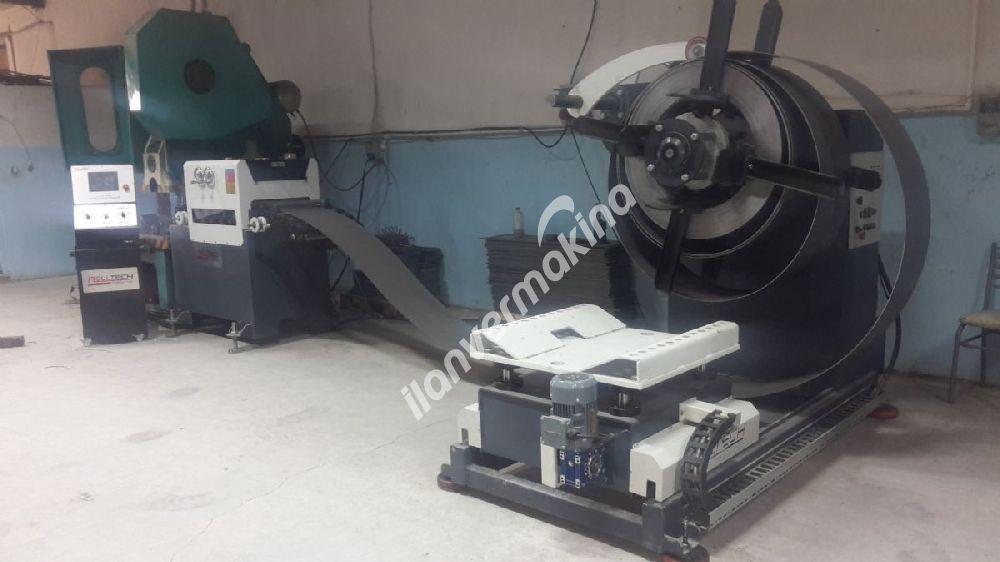Rolltech Hidrolik Rulo Saç Açma Makinası