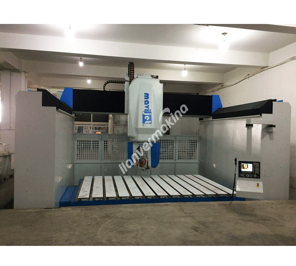 Su Jeti - MAVİJET MJT-CW-404015 CNC 5 Eksen İşleme Merkezi