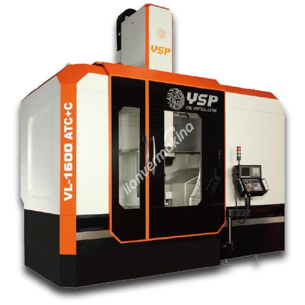 YSP Yu Shine VL-1600ATC Cnc Dik Torna - Yuntes Makina
