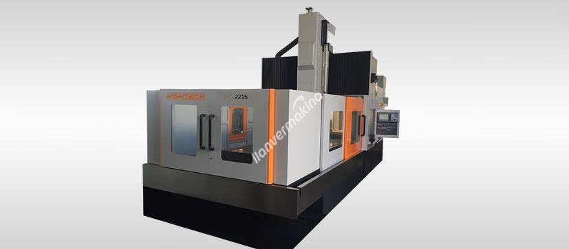 Hightech GT-2215 Cnc Double Kolon İşleme Merkezi