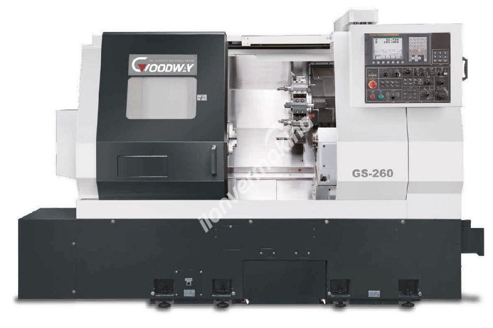 Goodway GS-200L 8 İnç Yatay CNC Torna Tezgahı - TEZMAKSAN