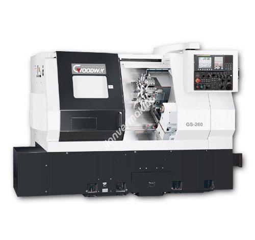 Goodway GS-260 10 İnç Yatay CNC Torna Tezgahı - TEZMAKSAN