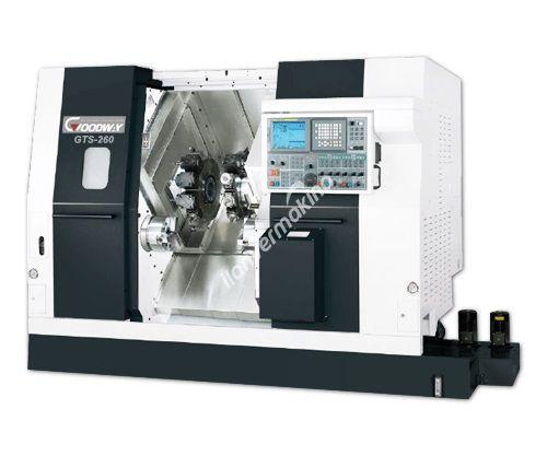 Goodway GTS-260 CNC 10 inç Yatay Torna Tezgahı - TEZMAKSAN