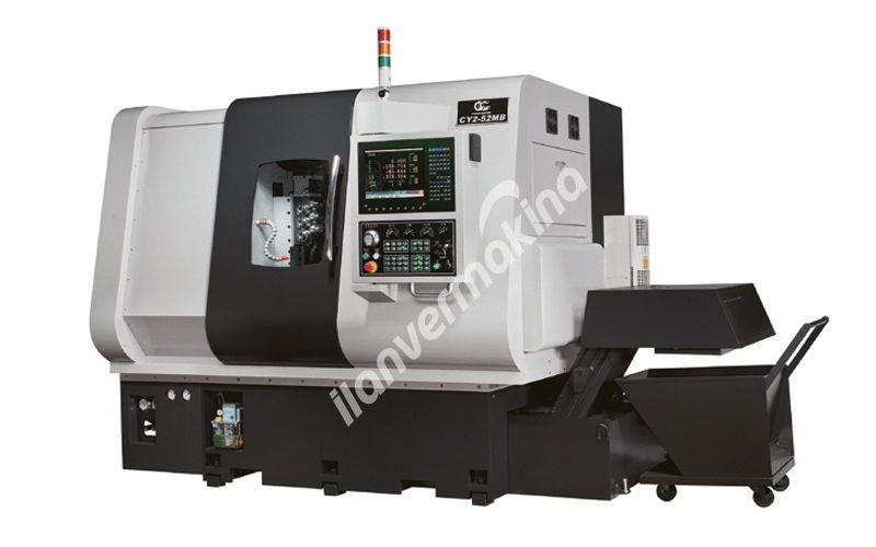 CC Machinery CY2-52MB Cnc Torna Tezgahı - Tezmaksan