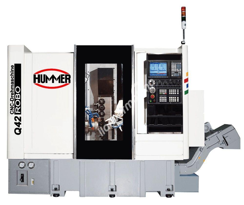 Hummer Q42 ROBO CNC Otomat Torna Tezgahı - Tezmaksan