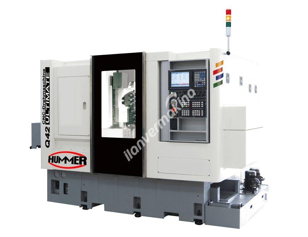 Hummer Q42 ULTIMATE CNC Otomat Torna Tezgahı - Tezmaksan