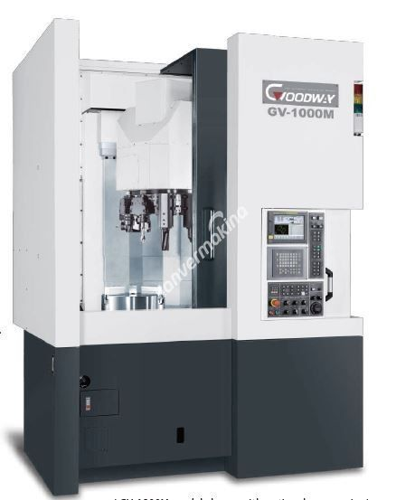 Goodway GV-1000M/ATC CNC Dik Torna Tezgahı - Tezmaksan