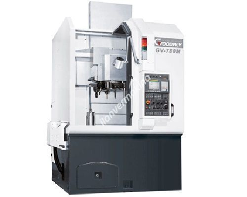 Goodway GV-780 15 inç - 18 inç CNC Dik Torna Tezgahı - Tezmaksan
