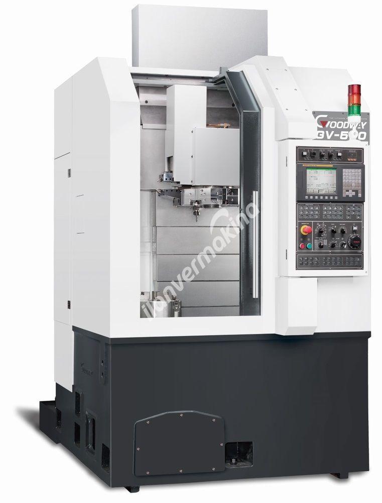 Goodway GV-500 CNC 12 inç Cnc Dikey Torna Tezgahı - Tezmaksan