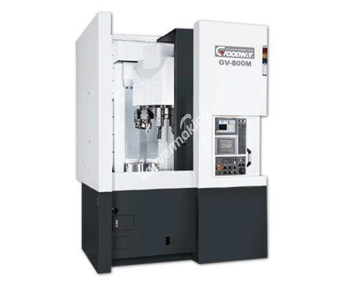 Goodway GV-800 CNC 15 inç- 18 inç - 21 inç-  24 inç Cnc Dik Torna Tezgahı - Tezmaksan