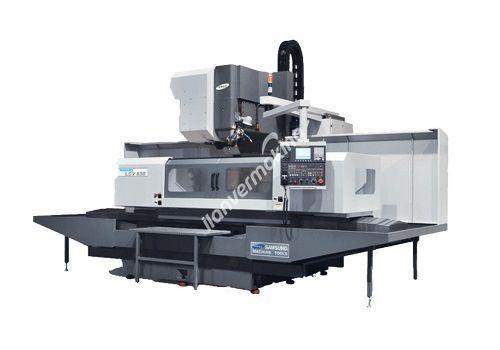 SMEC LCV-850 CNC Dik İşleme Merkezi - X Eksen 2000 mm