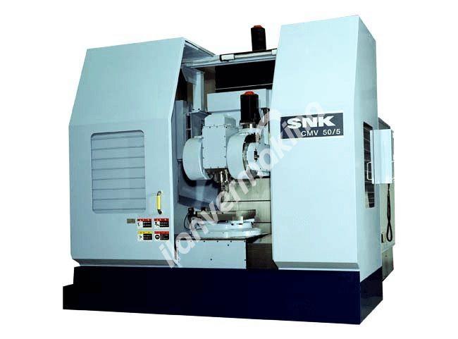 SNK CMV-100 CNC 5 Eksen Cnc Dikey İşleme Merkezi - Tezmaksan