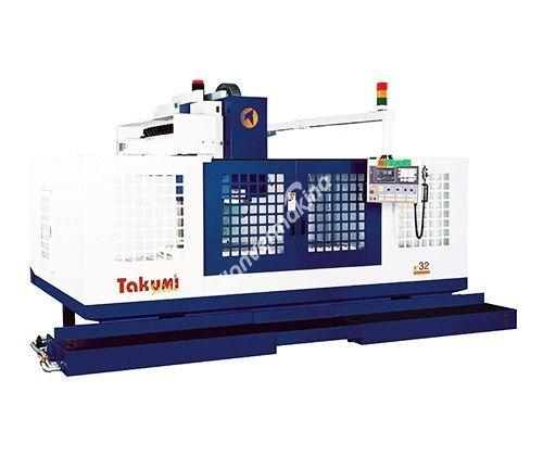 Takumi V32 CNC Dik İşleme Merkezi - X Eksen 3200mm