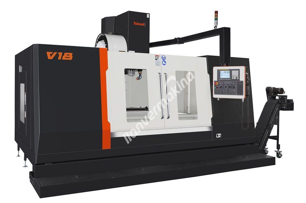 Takumi V18 CNC Dik İşleme Merkezi - X Eksen 1800 mm