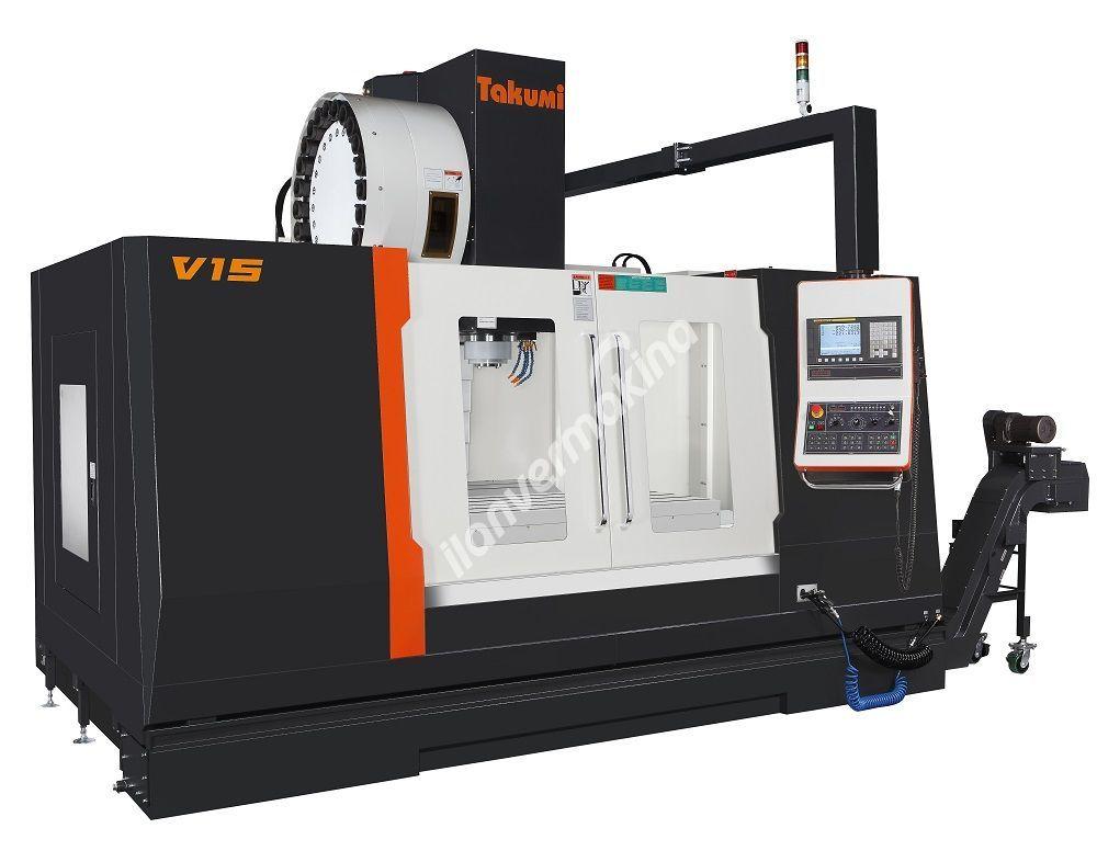 Takumi V15 CNC Dik İşleme Merkezi - Tezmaksan