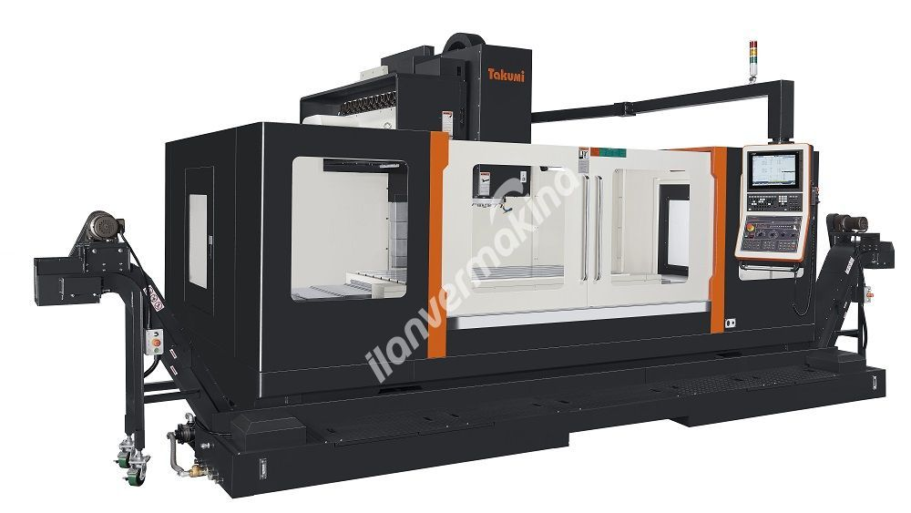 Takumi V22 CNC Dikey İşleme Merkezi - X eksen 2200 mm