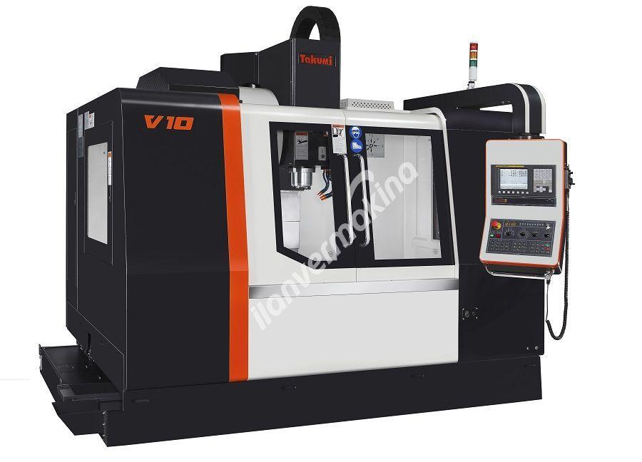 Takumi V10 CNC Dik İşleme Merkezi - Tezmaksan
